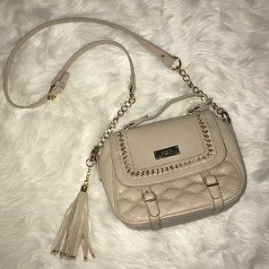 BCBG Cream Bag